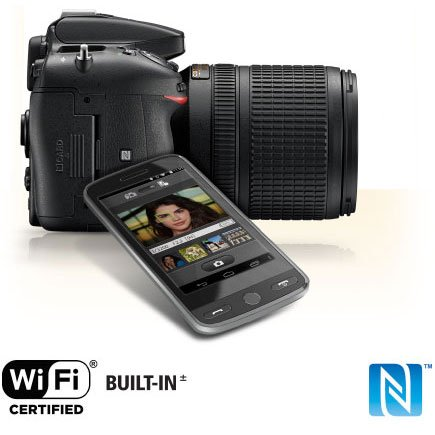 Nikon D7200 24.2 MP DX-Format Digital SLR Body Wi-Fi NFC