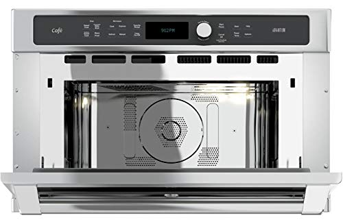 GE-CSB9120SJSS-Cafe-Advantium-30-Stainless-Steel-Electric-Single-Wall-Oven-Convection