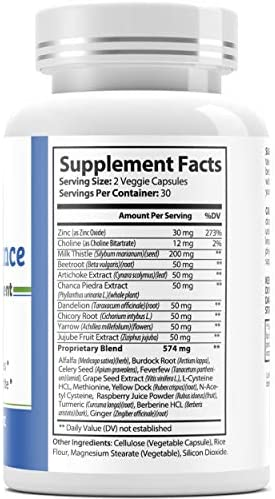 Leptin Resistance Supplement (Powerful Weight Management) w/Milk Thistle, Turmeric, Berberine & Ginger for Women and Men - Promotes Healthy Liver Detox and Colon Cleanser - 180 Diet Pills - 3 Bottles 4