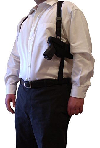 King Holster Tactical Shoulder Holster and Double Mag Pouch fits Springfield Armory XD-S | XD-E | XD Sub-Compact