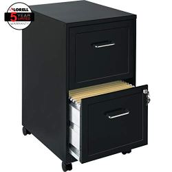 Lorell File Cabinet, Black –