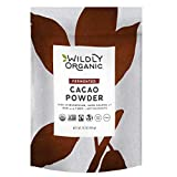 Wilderness Family Naturals Fair Trade Certified Cacao, The Best Tasting and Smoothest Cacao Powder, Organic Raw