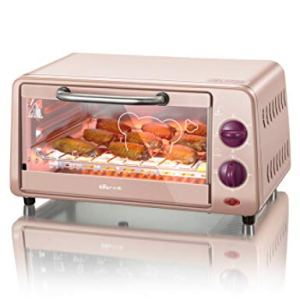 WHHH Oven Electric Oven Multifunctional Home Mini Baking Oven 10 Liters Cake Maker Stainless Steel Convection Oven For Kids Diy 41vQ4qWhAuL