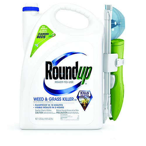 Roundup Ready-To-Use Weed & Grass Killer Sure Shot Wand, 1.33 Gal