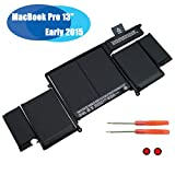 EMAKS A1582 Battery for MacBook Pro 13' Retina A1502 Early 2015 Ver MF839 MF840 MF841 MF843 EMC 2835 MF839xx/A MF840xx/A MF841xx/A MF843xx/A ME864 ME865 ME864xx/A ME865xx/A - 11.42V 74.9wh 6-Cell