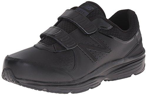 New Balance Men's MW411HK2 Walking Shoe, Black/Black, 14 D US