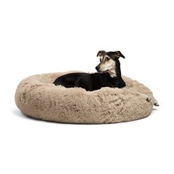 Best-Friends-by-Sheri-Donut-Luxurious-Faux-Fur-Shag-Dog-Bed-Cat-Bed