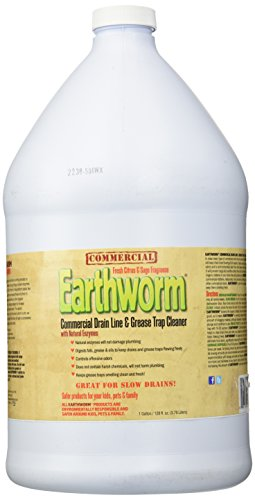 Earthworm Commercial Drain Line And Grease Trap Cleaner