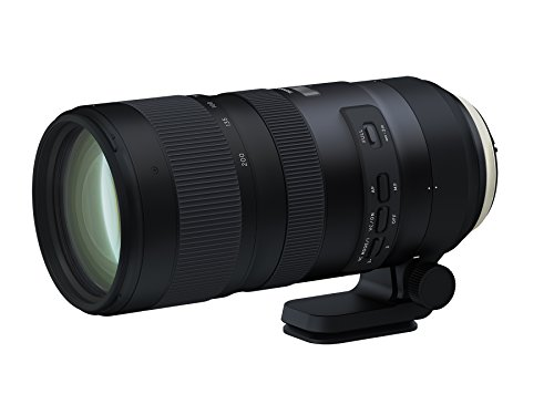 Tamron SP 70-200mm F/2.8 Di VC G2 for Nikon FX Digital SLR Camera (6 Year Tamron Limited Warranty)