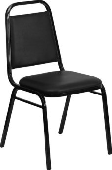 Flash Furniture HERCULES Series Trapezoidal Back Stacking Banquet Chair