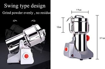 CGOLDENWALL-Safety-Electric-Grain-Grinder-Mill-High-speed-Spice-Herb-Mill-3600W-Commercial-Powder-Machine-Dry-Cereals-Grinder-CE-2500g-Swing-Type