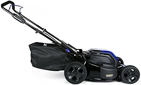 Amazon Com Kobalt 80 Volt Max Brushless Lithium Ion 21 In Deck Width Cordless Electric Lawn Mower With Mulching Capability Batteries Included Garden Outdoor