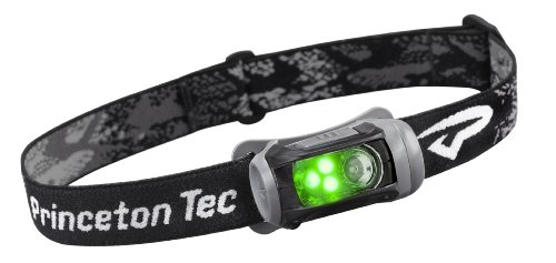 Princeton Tec Remix LED Headlamp (150 Lumens, Black w/Green LED's)