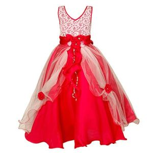 Saba Garments Kids Girl's Lace Gown Dress