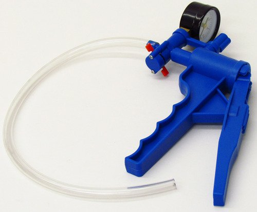 SEOH Vacuum Hand Pump for Filtration with Pressure Gauge
