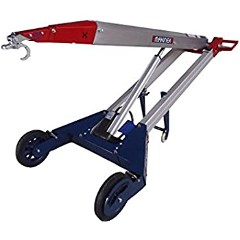 Makinex PHT-140 Powered Hand Truck, With Hook, 309 lb. Lift Capacity, 18V lithium rechargeable battery, 25 Amp Linear Actuator, 1' To 6' 2