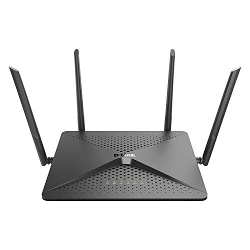D-Link EXO AC2600 MU-MIMO Wi-Fi Router – 4K Streaming and Gaming with USB Ports, 4x4 Dual Band Wireless Router (DIR-882-US)
