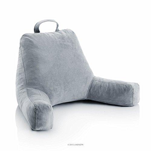 LINENSPA Shredded Foam Reading Pillow -...