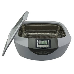 iSonic-P4820-WSB-Commercial-Ultrasonic-Cleaner-26Qt25L-White-Color-Stainless-Steel-Wire-Mesh-Basket-110V