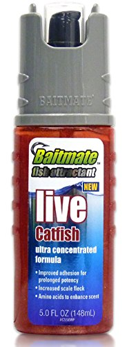 Baitmate Live Catfish Scented Fish Attractant, 5 Fluid-Ounce