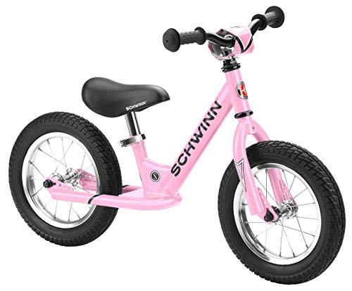 Schwinn Balance Bike, 12' Wheels, Pink (Renewed)
