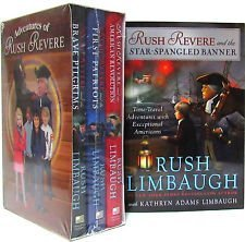 Rush Revere Hardcover Set 4-Book Set The Adventures of Rush Revere