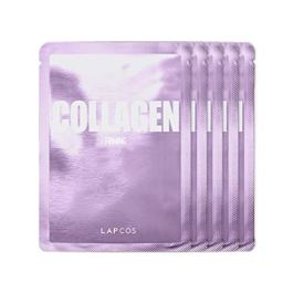 LAPCOS Collagen Sheet Mask, Daily Face Mask with Collagen Peptides for Wrinkles and Dark Spots, Korean Beauty Favorite…