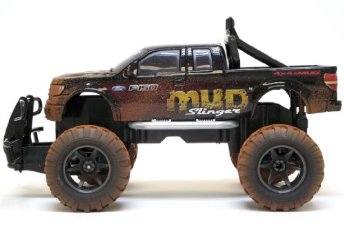 New Bright 1:15 (11.5') R/C MUD SLINGER Ford F-150(Discontinued by manufacturer)