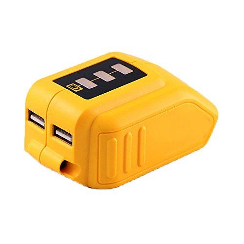12V/20V Max USB Power Source for Dewalt DCB090 Converters for Lithium Battery