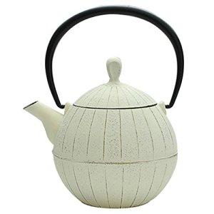 Southern iron teapot walnut Kurumi 0.5L Premium Ivory (japan import)