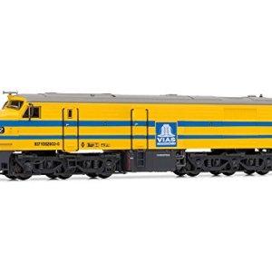 ARNOLD – Diesel Locomotive 318 (1807) RENFE, DC Digital, Yellow and Grey (Hornby hn2247d) 41wRoCg0kEL