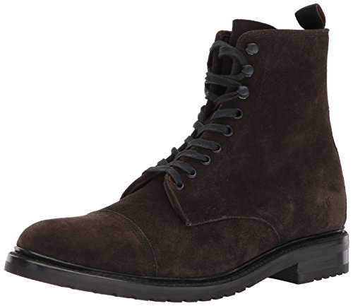 FRYE Men's Officer Lace Up Combat Boot, Fatigue, 9.5 D US