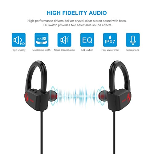 hussar magicbuds 2 next generation bluetooth headphones wireless sports earbuds with mic ipx7. Black Bedroom Furniture Sets. Home Design Ideas