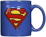 ICUP DC Superman Embossed Logo Ceramic Mug, 20 oz