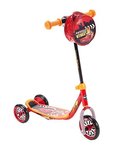 Wonders-Shop-USA New My Lightning Mc-Queen Cars Kick Kid Pre-school Scooter 3 wheels