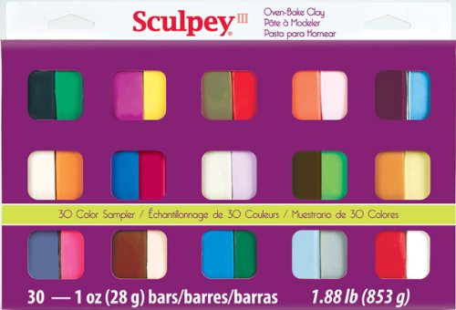 Sculpey III Oven Bake Clay