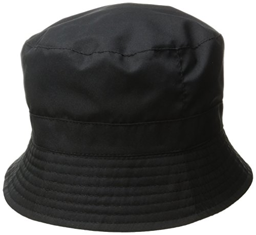 totes Women's Bucket Rain Hat, Black One Size