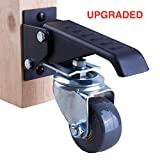 Workbench Caster kit - 4 Extra Heavy Duty Retractable casters, 800 lbs Weight Capacity, Urethane Wheels