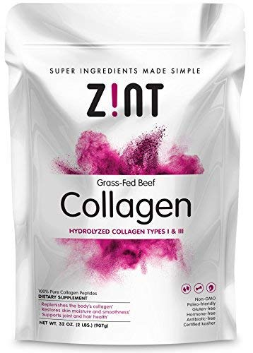 Collagen Powder Collagen Peptides XL (32 oz): Anti Aging Hydrolyzed Beauty Protein Powder Supplement - for Skin, Hair & Nails