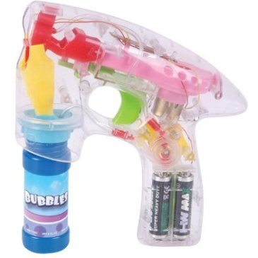 Bubble Gun Educational Products – Light Up Battery Ope