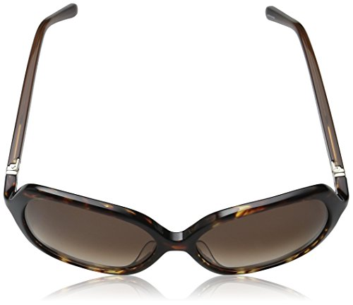 41wt Oversize square sunglasses with signature spade icon at left temple Includes case