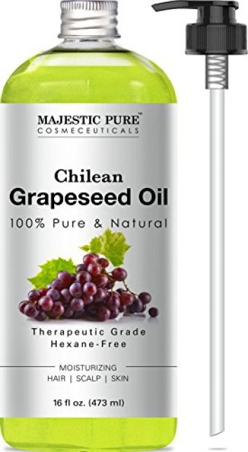 e070d0edd41 Majestic Pure Grapeseed Oil, Pure & Natural Massage and Carrier Oil ...
