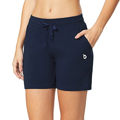 "Baleaf Women's 5"" Activewear Yoga Lounge Shorts with Pockets 1 Fashion Online Shop gifts for her gifts for him womens full figure"