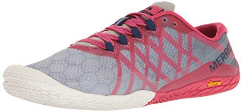 Merrell Women's Vapor Glove 3 Trail Runner Azalea 8.5 M US