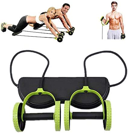 Darhoo New Sport Core Double AB Roller Wheel Fitness Abdominal Exercises Equipment Waist Slimming Trainer at Home Gym 3