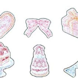 htrdjhrjy Amazing 70Pcs Romantic Decoration Jellyfish Stickers for Phone Album Candy Box Notebook Scrapbooking School Supplies(None Cake 7.) 41x 2BqmzTEJL