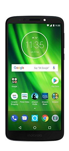 Moto G6 Play with Alexa Push-to-Talk - 32 GB - Unlocked (AT&T/Sprint/T-Mobile/Verizon) - Deep Indigo - Prime Exclusive Phone