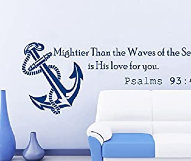 Amazon Com Wall Decals Quotes Vinyl Sticker Decal Quote Psalms