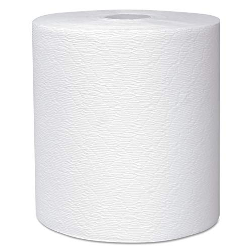 Scott 50606 Essential Plus Hard Roll Towels 8″ x 600 ft, 1 3/4″ Core Dia