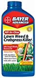 Bayer Advanced 704140 All-in-One Lawn Weed and Crabgrass Killer Concentrate, 8 Pack 32 Oz